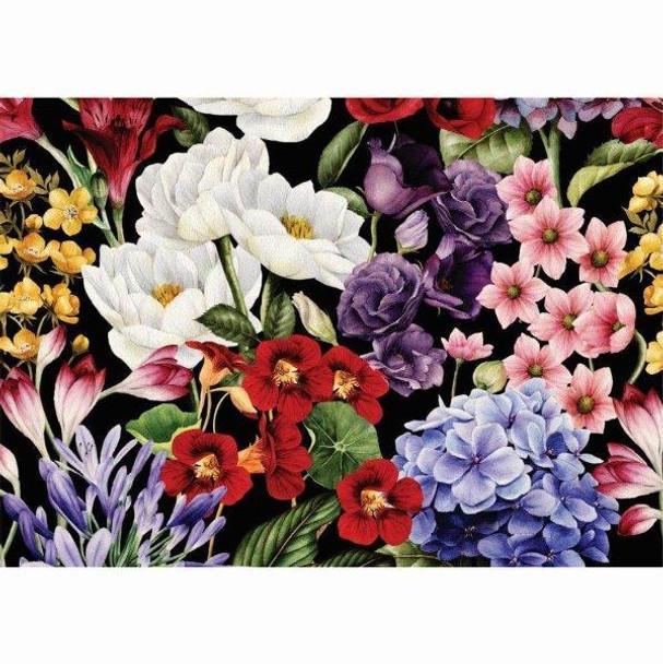 PVCPFLORAL03 PVC Placemat - Floral