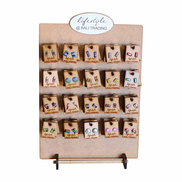 PBD020 80pc Stud Earring Stand - Brands