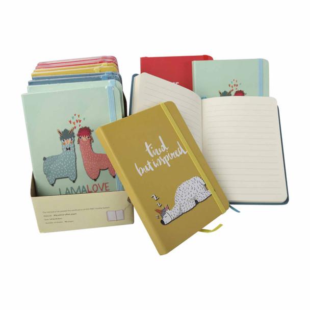 BGA661614 Set12 A6 Notebooks - Dream Llama