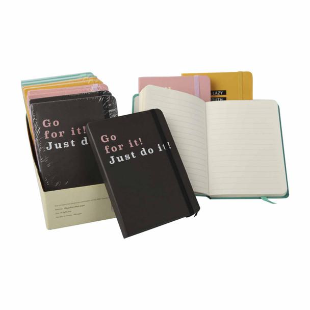 BGA684514 Set12 A6 Notebooks - Quotes