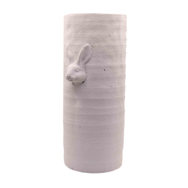 15436MA584A Medium Tall White Ceramic Vase