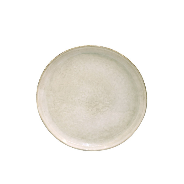 TM21ST0405050 Beige And Grey Ceramic Side Plate