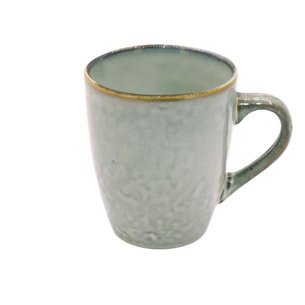 TM21ST0405052 Beige And Grey Ceramic Mug