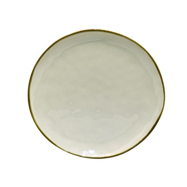 TM21ST0329114B Off White Ceramic Dinner Plate