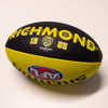 Yellow and Black Sherrin football, with the Richmond logo