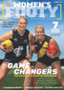 Season 2020 AFLW magazine, featuring Richmond Captain Katie Brennan and Carlton Star Taylah Harris. Contains team information relating to the AFLW season for 2020 and other various information.