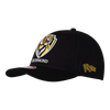 A Black based cap with a curved peak, displaying our club logo on the front. Displayed on the side is the club's establishment date in a little flag.