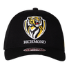 A Black based cap with a curved peak, displaying our club logo on the front.