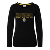 """A Black long sleeve Pyjama Tee with """"Richmond"""" displayed over one line on the front, as well as displaying the club logo in the middle chest area of the tee."""