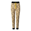 """A cuffed bottom pair of Pyjama Pants, displaying the word """"Tigers"""" all over. True to size fit."""