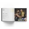 Book with photos from the Premiership year 2019. This features key information about each round and quotes from players, coaches and staff.