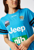2020 Electric Blue AFLW Richmond FC Coaches Training Tee with Sponsors