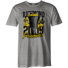 Grey tee shirt with premiership design on the front.