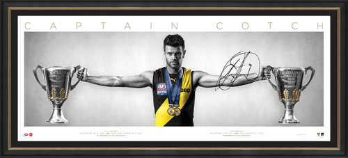 Richmond Tigers - 2019 Premiers Trent Cotchin Signed Wings