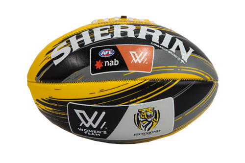 Richmond Tigers – AFLW Sherrin Mini Football 20cm