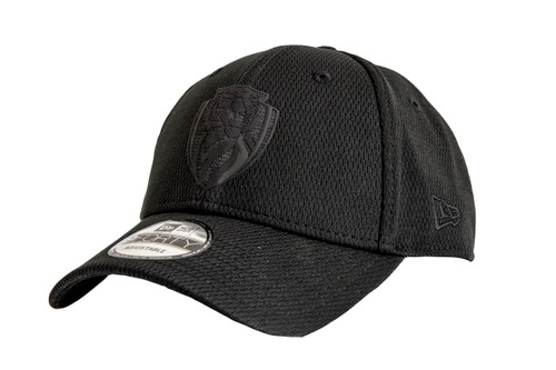 Richmond Tigers - 2020 New Era 9FORTY Snapback Black on Black Cap