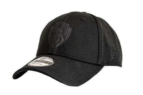 Richmond Tigers - 2020 New Era 9FORTY Snapback Black on Black Cap