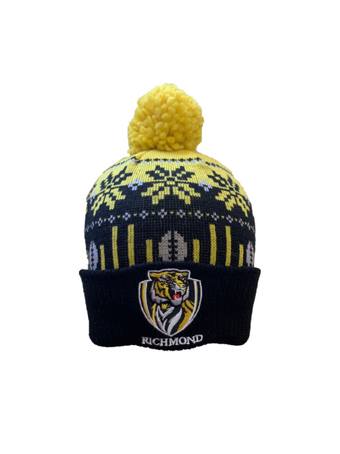 Richmond Tigers - W20 Adult Supporter Ugly Beanie