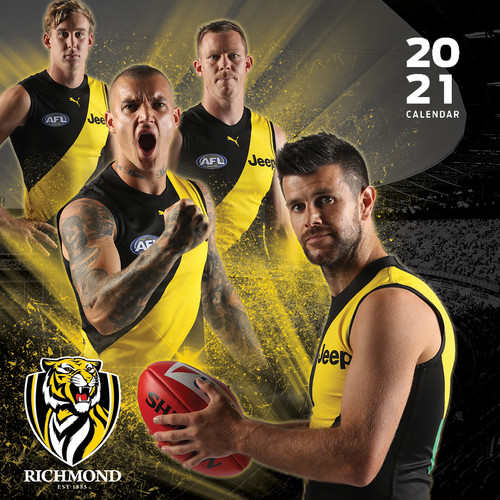 Richmond Tigers - 2021 Calendar