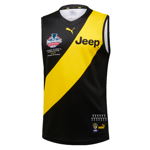 2020 PUMA Premiers Guernsey Front