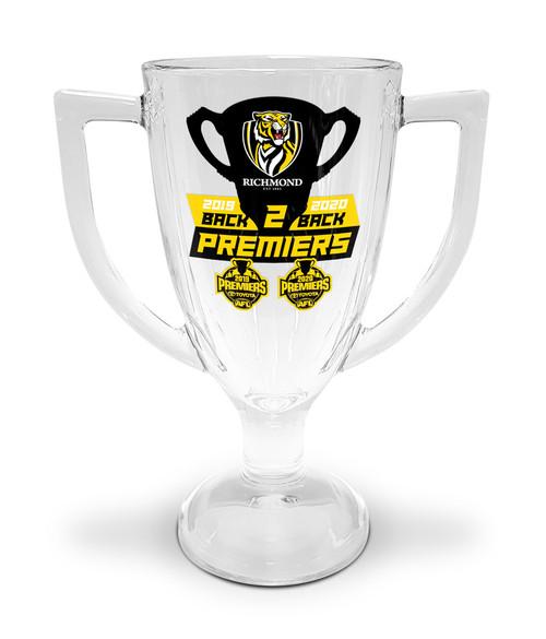 2020 Premiers Trophy Glass