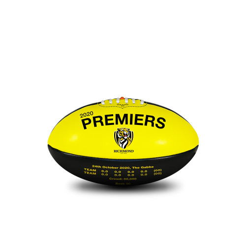 2020 Premiers- Football 20cm Mini