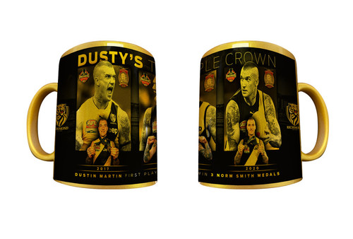 Dustin Martin Triple Crown Gold Mug