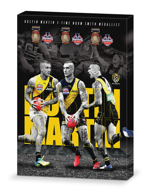 Dustin Martin Montage Canvas