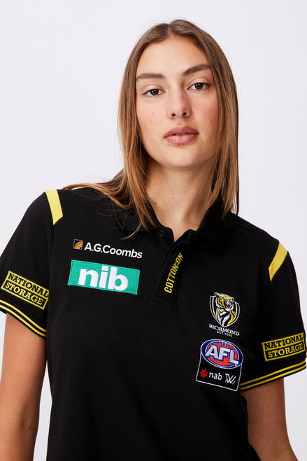 AFLW 2021 Short Sleeve Media Polo - Womens