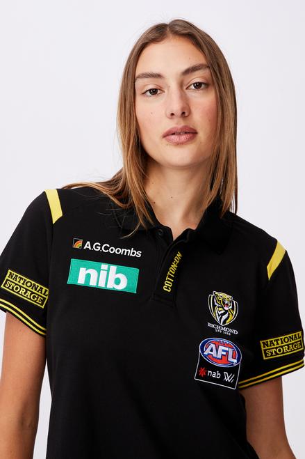 AFLW 2021 Short Sleeve Media Polo - Womens