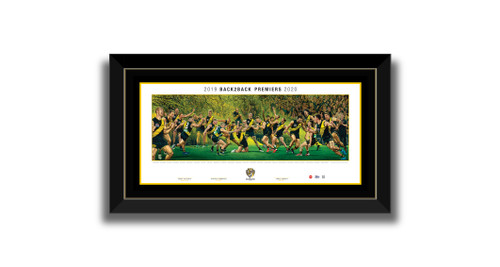 BACK2BACK PREMIERS by Jamie Cooper - Framed Lithograph