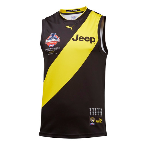 Richmond Tigers - 2019 PUMA Adult Premiers Guernsey