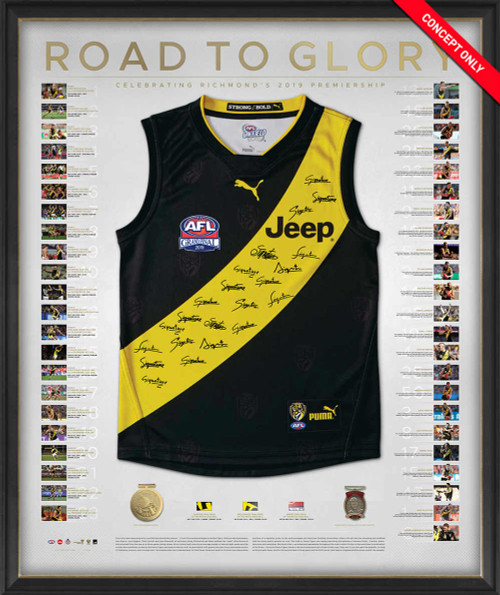Richmond Tigers - 2019 Premiers Road to Glory