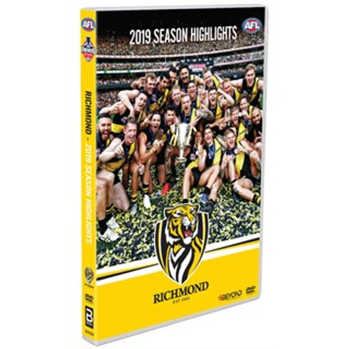DVD features all the very best moments from our victorious year, 2019