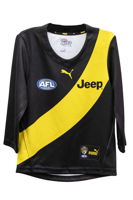 Richmond Tigers - 2020 PUMA Youth Home Guernsey Long Sleeve