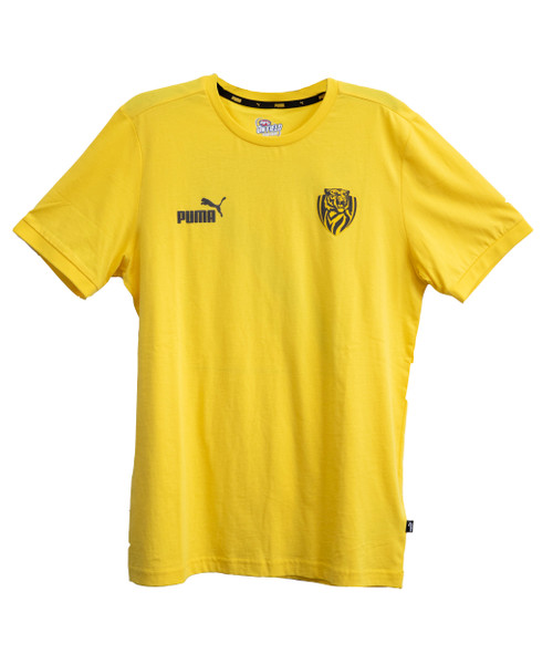Richmond Tigers - 2020 PUMA Football Culture Youth Tee Yellow