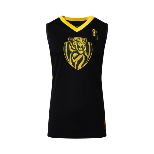 Richmond Tigers - S19 Mens Basketball Singlet