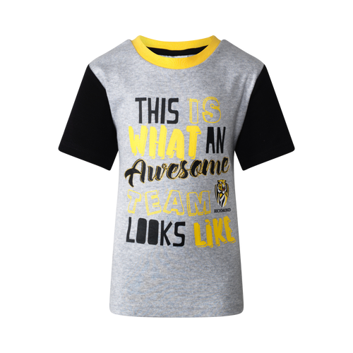 Richmond Tigers - S19 Toddlers Tee and Cap Set
