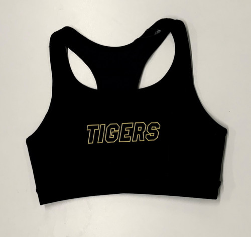 Richmond Tigers -  2020 AFLW Cotton On Racer Back Crop