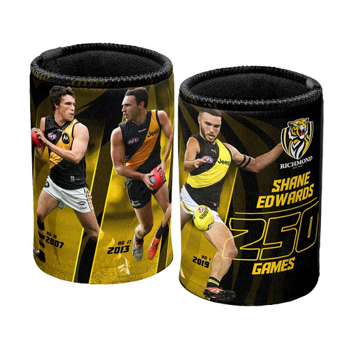 Richmond Tigers - Shane Edwards 250th Game Can Cooler