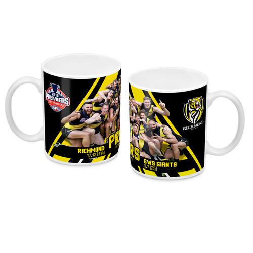 Richmond Tigers - 2019 Premiers P2 Team Photo Mug