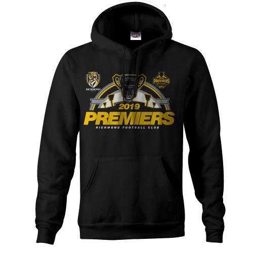 Richmond Tigers - 2019 Mens Premiers P2 Hood
