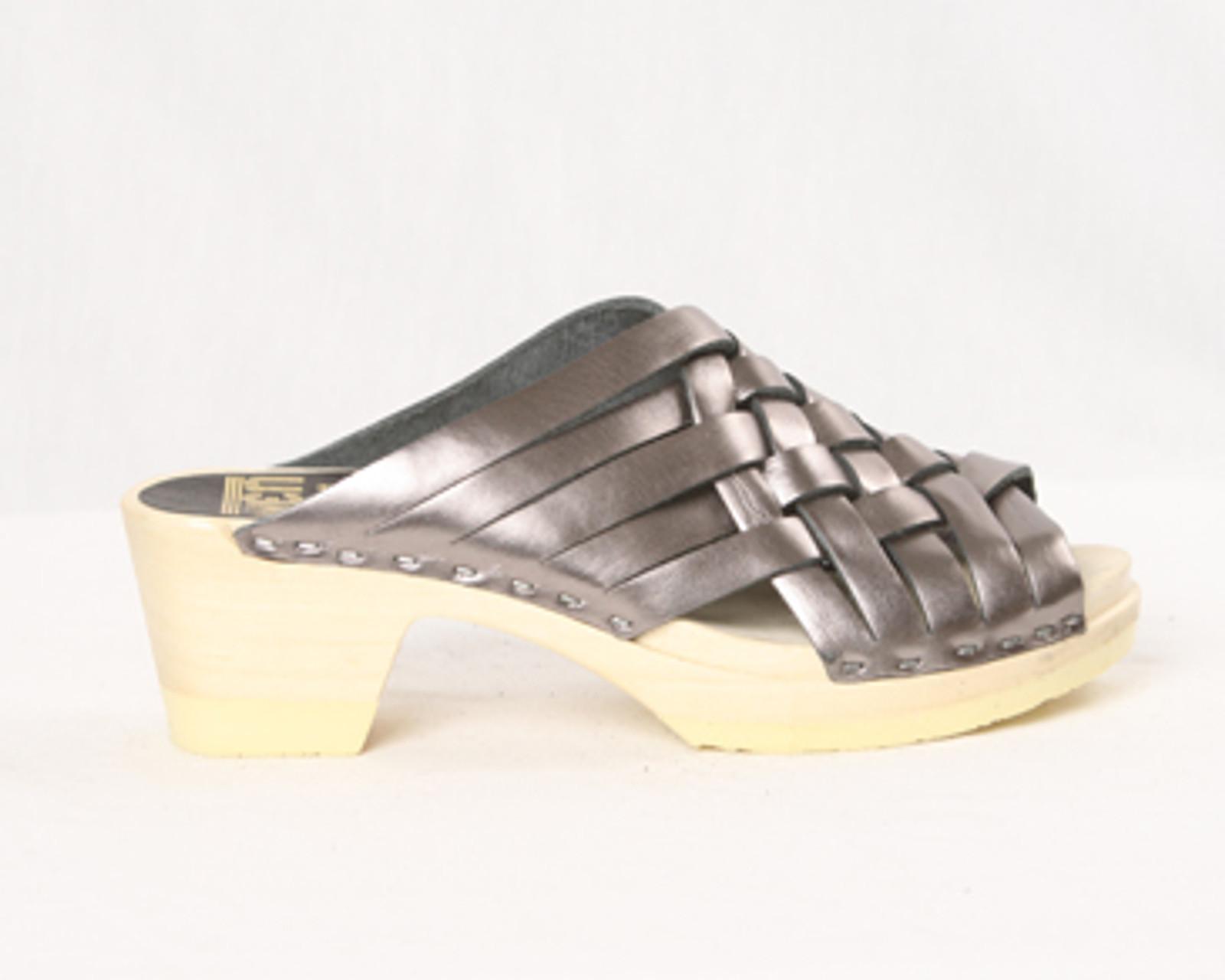 Weave Sandals - Mid Heels