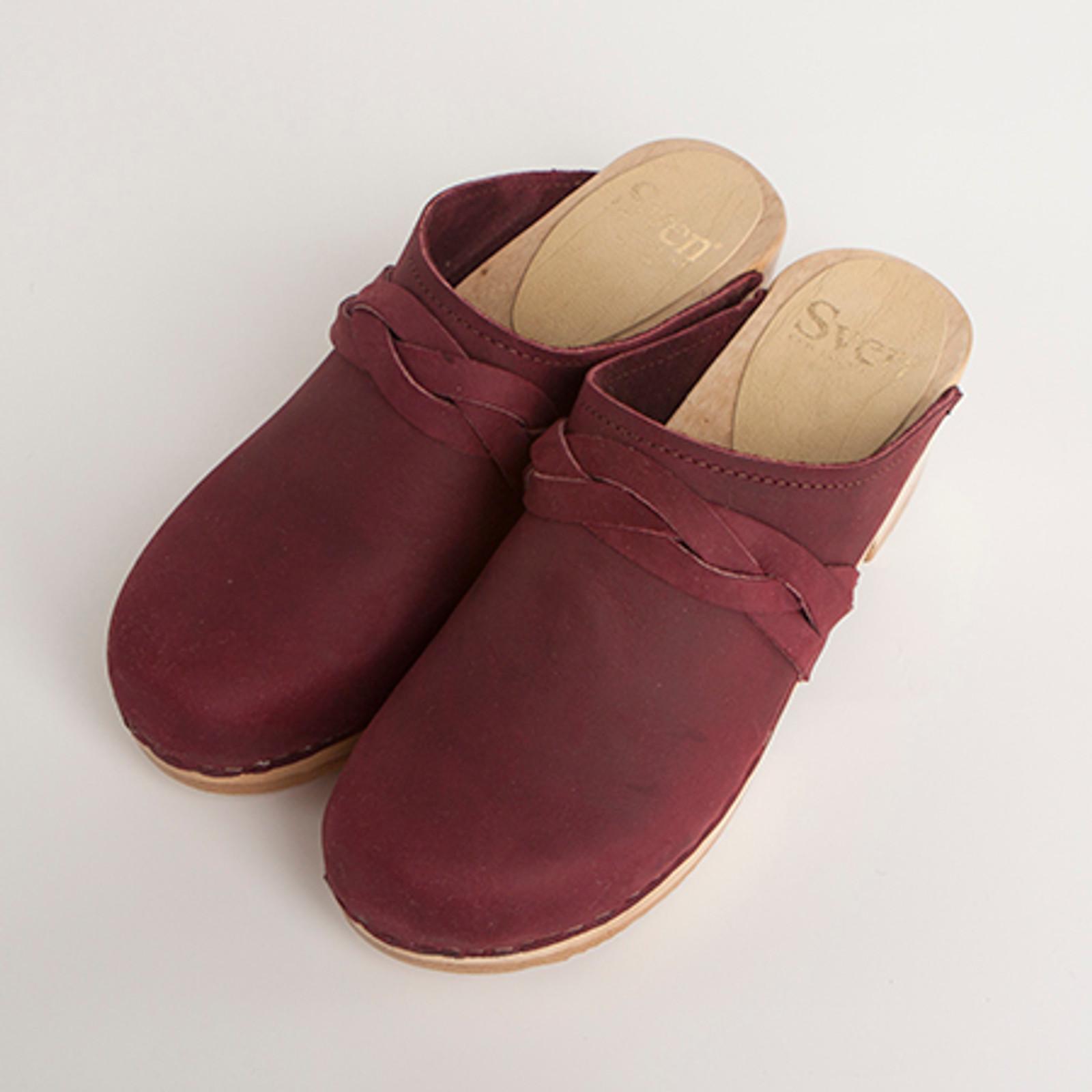 Braid Clogs - Mid Heels