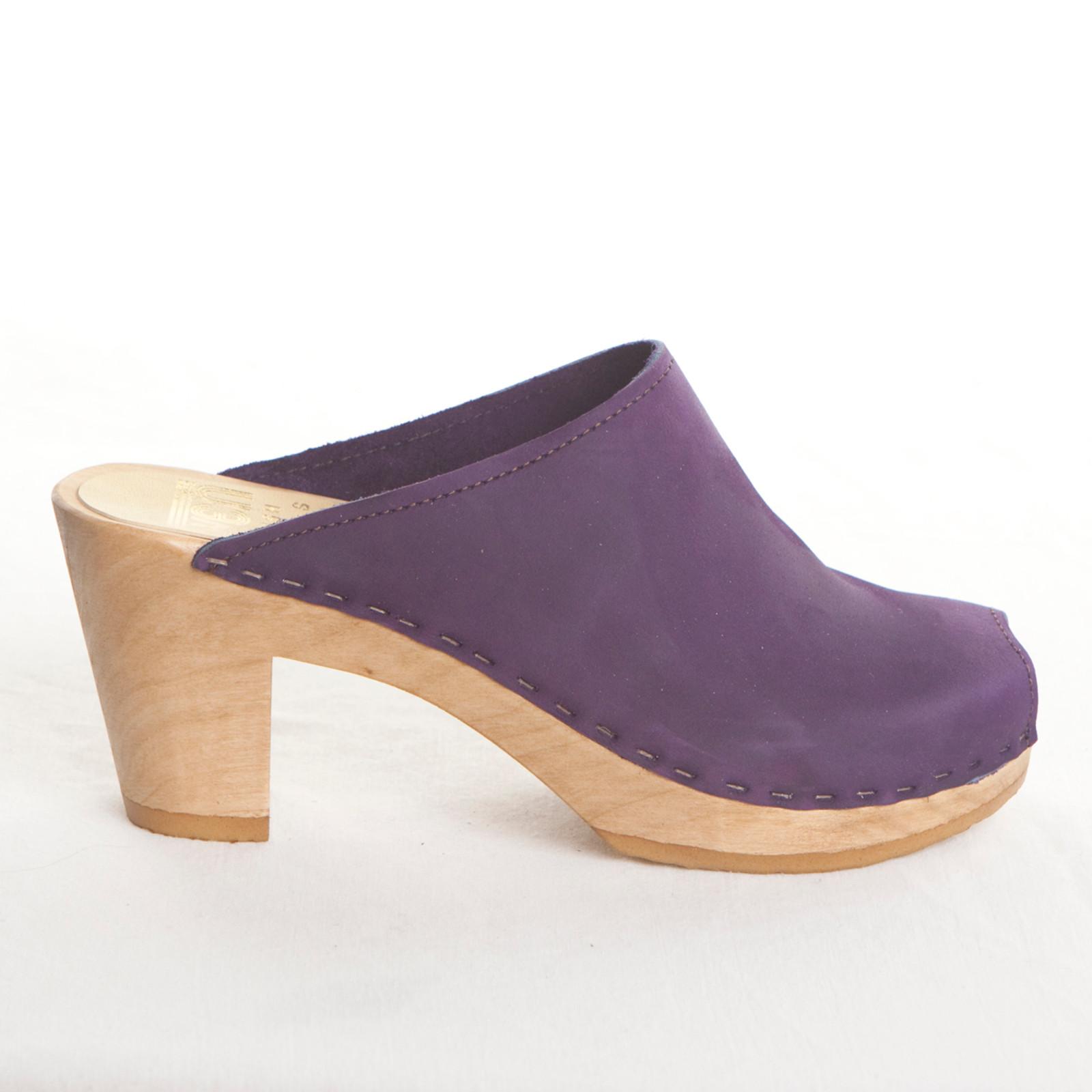 Purple Nu Buc with Brown Base