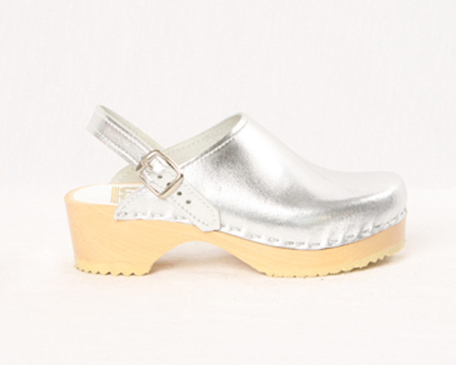 Sling Strap Clogs - Swedish - Low Heel