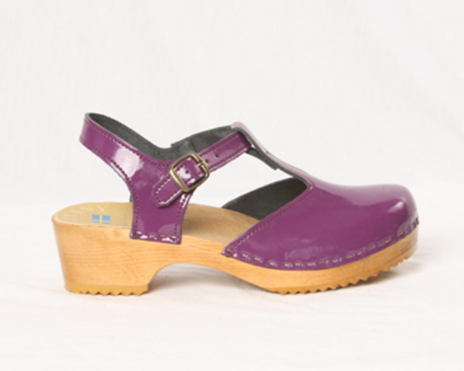 T-Straps - Low Heel - Swedish Clogs