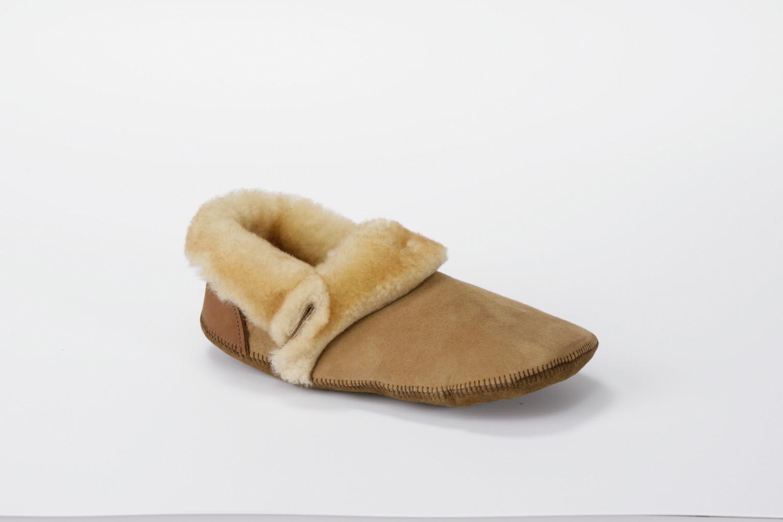 Men's Duck Foot Shearling Slippers