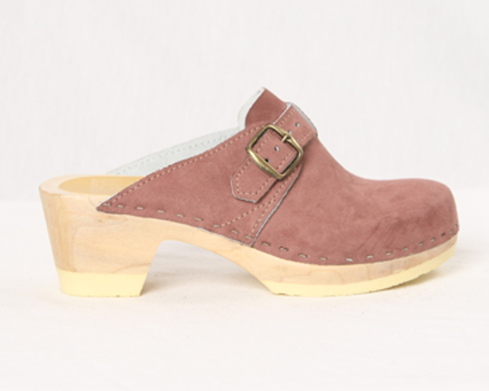 Mauve Suede with Natural Base