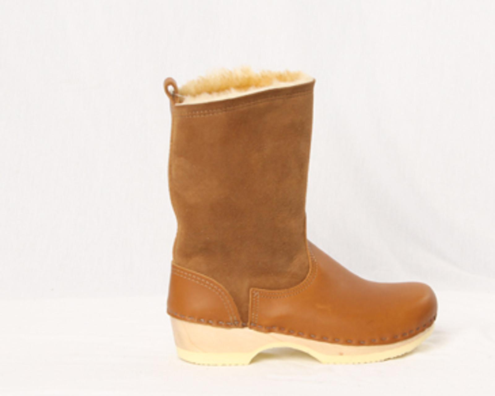 """Men's Clog Boots - 8"""" Shearling"""